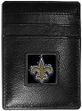 Siskiyou New England Patriots Leather Money Clip/Cardholder