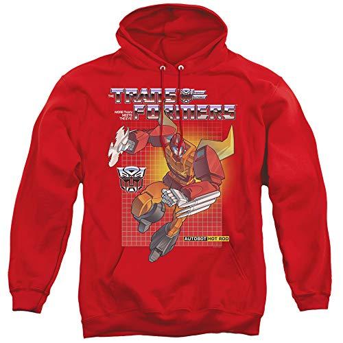 Transformers Hoodie Hot Rod Red Hoody, XL