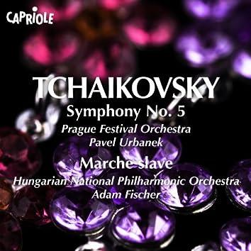 Tchaikovsky, P.: Symphony No. 5 / Marche Slave