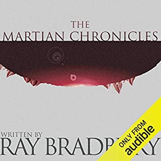 The Martian Chronicles audiobook cover art