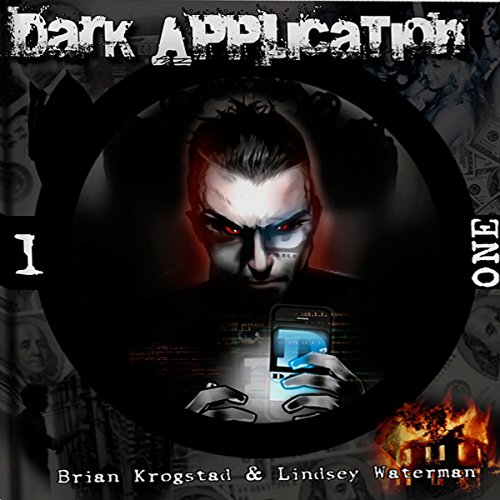 Dark Application: ONE audiobook cover art