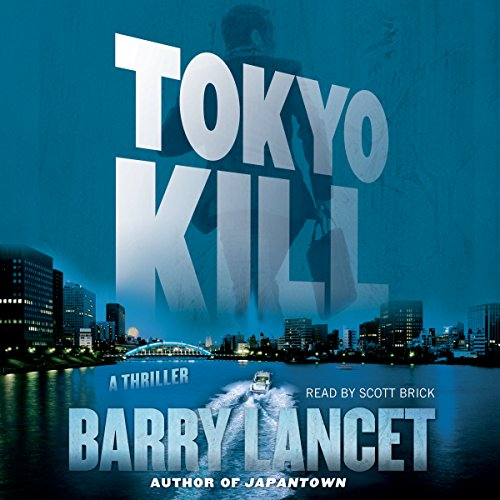 Tokyo Kill audiobook cover art