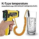 Zoom IMG-1 termometro a infrarossi mestek digitale