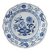 Hutschenreuther 02001-720002-10015 Zwiebelmuster Brotteller, 15 cm mit Fahne, blau