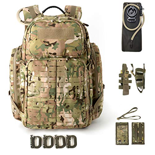 Bulle Multicam Militaire Tactique Sangle MOLLE fermé couvercle radio pouch