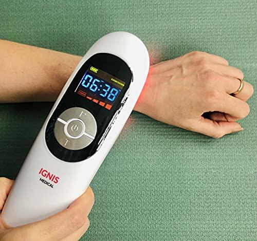 Nana BEST - Dispositivo di terapia con luce rossa per alleviare il dolore, per ginocchia, spalle, schiena e dolori muscolari, adatto per persone e animali