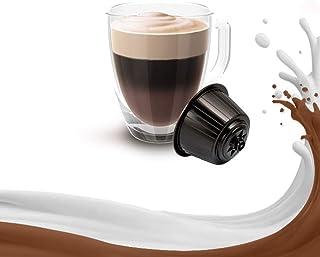 KICKKICK 32 capsules Mocaccino compatibles Nescafé Dolce Gusto – Boisson soluble en dosettes