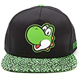 for-collectors-only Yoshi Cap Nintendo Super Mario Snapback with Yoshi Rubber Patch Logo Baseball...