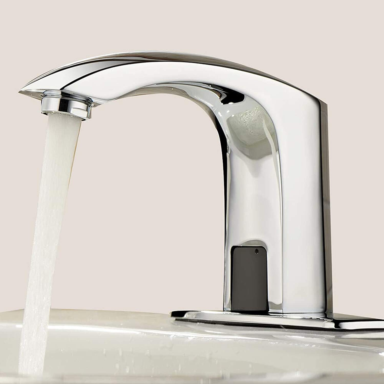 Waschbecken Wasserhahn - Touch Touchless Chrom Centerset One Hole Hands Free One Hole, 1,1