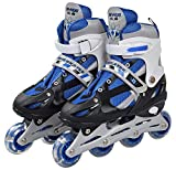 KLIVORY Adjustable Inline Skates Roller Blades for Girls and Boys in-line Skates