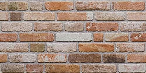 AS Country Stone | Wandverkleidung Steinoptik, 3D Wandpaneele Steinoptik, Styropor-Paneele Backsteinoptik für Innenbereich, Außenbereich, Geschäftsräume (ST 351-104)
