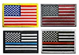 US Flag Patches...image