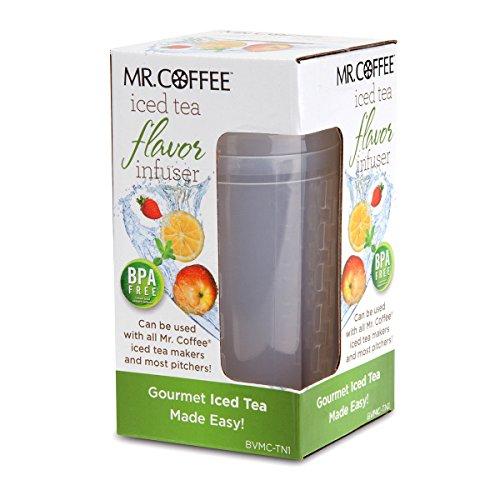 Mr. Coffee Iced Tea Flavor Infuser, Clear