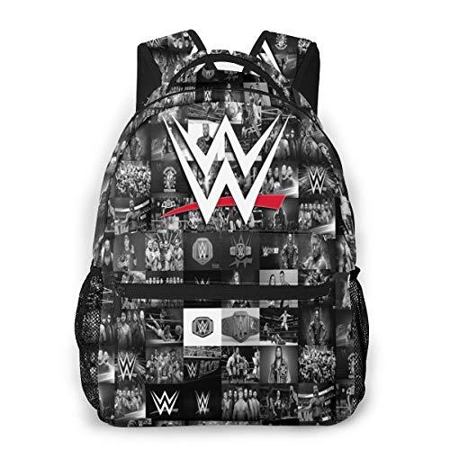 WWE Backpack for Children School Bag Book Bag 16x11.5x8 Inch