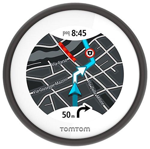 TomTom VIO - Navegador GPS para Scooter con mapas de Europa, Color Negro