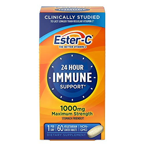Ester-C® Vitamin C, 1,000 mg, 60 Coated Tablets