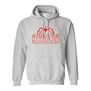 ALLNTRENDS Adult Hoodie Upside Down Shadow Monster Trendy Cool Sweatshirt