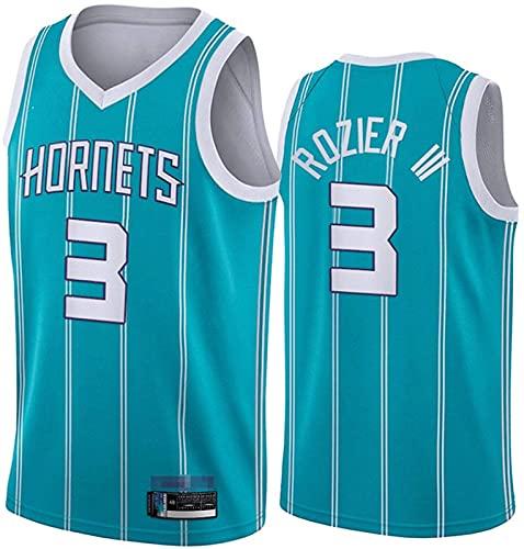 # 3 Charlotte Hornets Jersey sin mangas Deportes Jersey Chaleco Celtic, Vintage Mesh Bordado Jersey Clásico Baloncesto Deportivo, C - M