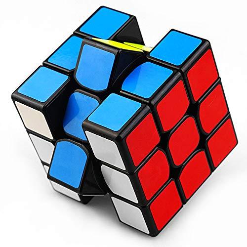 ProjectFont Cubo 3x3 Versione Originale Magico di Ultima Generazione Veloce e Liscio Materiale Durevole Non tossico per Adulti e Ragazzi Puzzle Super Resistente Gioco di Allenamento Mentale