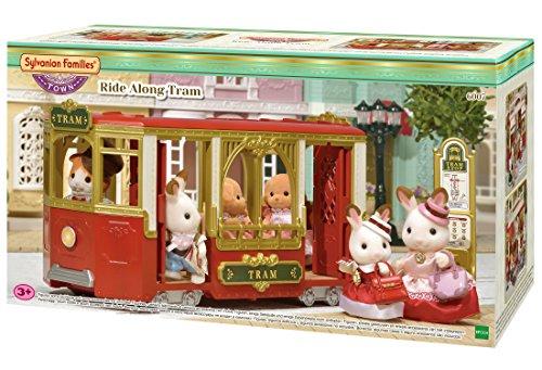 Sylvanian Families- Ride Along Tram Mini muñecas y Accesorios