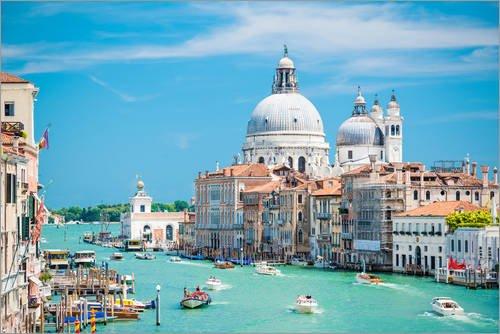 Posterlounge Acrylglasbild 30 x 20 cm: Venedig von euregiophoto - Wandbild, Acryl Glasbild, Druck auf Acryl Glas Bild