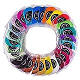 27 Farbe x 5 g Pigmentpulver, sunnymi ® Epoxidharz Metallic Farben Seifenfarben Set Farbpigmentpulver
