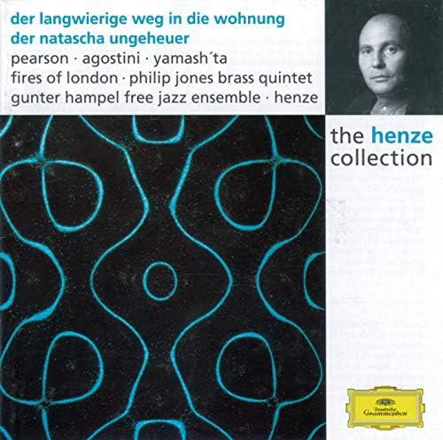 William Pearson, Fires Of London, The Philip Jones Brass Ensemble, Gunter Hampel Free Jazz Ensemble & Hans Werner Henze