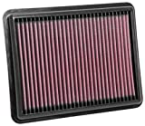 K&N Engine Air Filter: High Performance, Premium, Washable, Replacement Filter: Fits 2015-2018 SSANGYONG (Tivoli, XLV), 33-3116