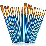 JOINREY Paint Brushes Set,20 Pcs Round Pointed Tip Paintbrushes Nylon...
