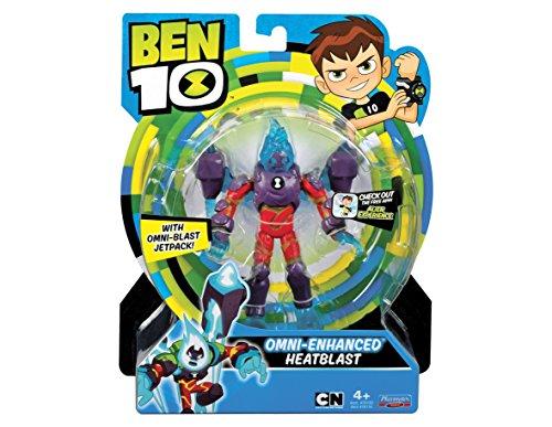 Ben 10 - Action Figure BEN19200 -Heatblast Omni Enhanced Action