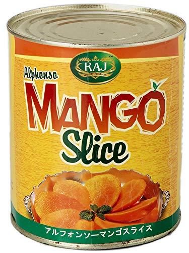 アルフォンソマンゴー マンゴースライス缶 850g(固形量430g) HALAL(ハラル食品)