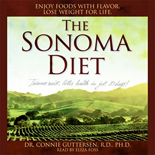 The Sonoma Diet audiobook cover art