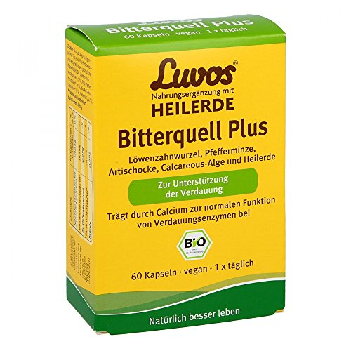 Luvos Heilerde Bio Bitterquell Plus Kapseln, 60 St