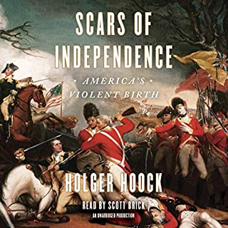 Scars of Independence audiobook cover art
