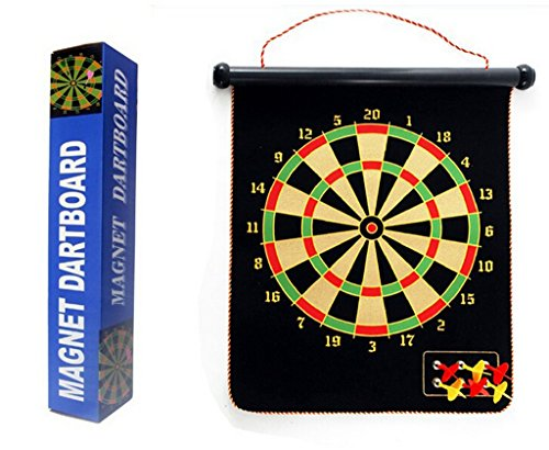Trademark Games Magnetic Roll-up Dart Board and...