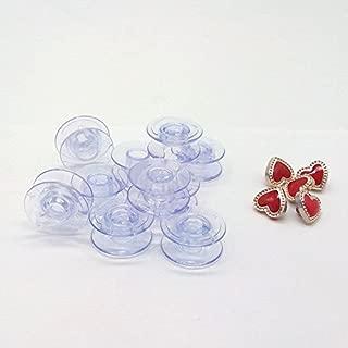 HONEYSEW 10PCS Plastic Bobbins For Pfaff Expression 2.0, 3.0 & Creative Vision 4.0,5.0