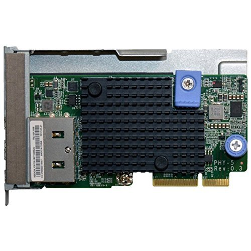 Lenovo 7zt7 a00548 Internal Ethernet Network Card and Adapter – Internal Network Card and Adapters (10000mbit/S; Wired; PCI-E; Ethernet; 10000 Mbit/s, Metal, Green) (Refurbished)