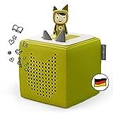 Toniebox Starterset in Grün: Toniebox + Kreativ-Tonie - Der Tragebare Lautsprecher für Tonies Hörfiguren und Kreativ Tonies - Für Kinder ab 3 Jahren - DEUTSCH