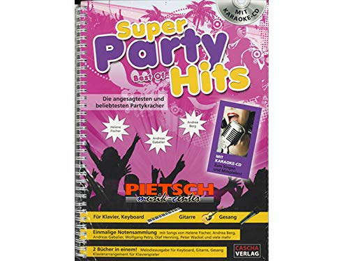 Cascha Verlag, Super Party Hits - Best of, Songbook