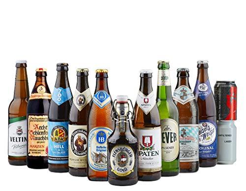 Beer Hawk German Beer Mixed Case - 12 Beers, 5000 ML