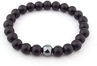 Jewelry Mens Boyfriend Matte Yoga Onyx Energy Bracelet Beaded Gift Black For Him