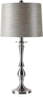 WYBFZTT-188 Rétro cuivre Lampe de Table, Salon Creative Minimaliste Chambre Chambre Lampe de Chevet Tissu Lampe Abat