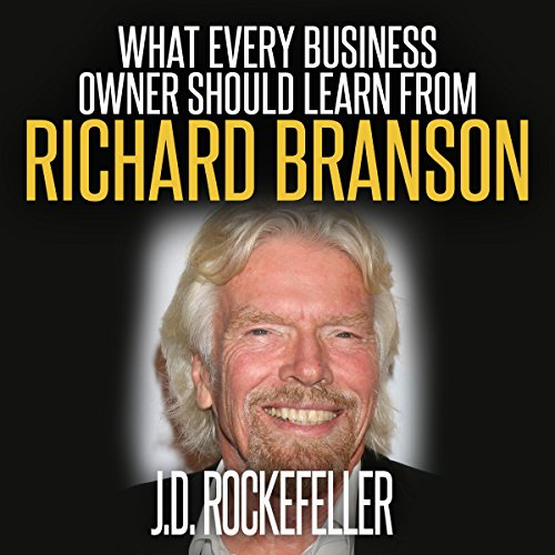 What Every Business Owner Should Learn from Richard Branson audiobook cover art