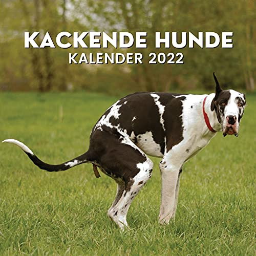 Kackende Hunde Kalender 2022: Lustiges Geschenk für Hundeliebhaber | Kackender Hund | Gag Geschenk | Hundegeschenke für Männer Frauen Kinder ... Hundebesitzer Geburtstag Weihnachten