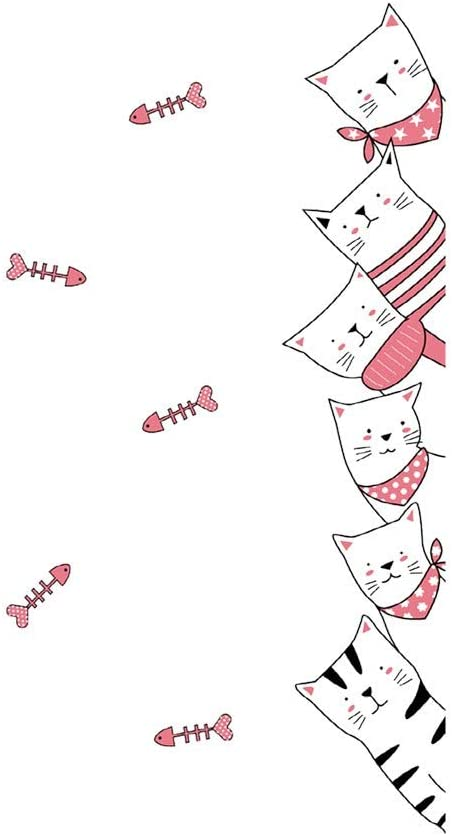 RYGHEWE Super-cheap Wall Stickers for Living Room Cute - Max 50% OFF Entrywa Decor Cat