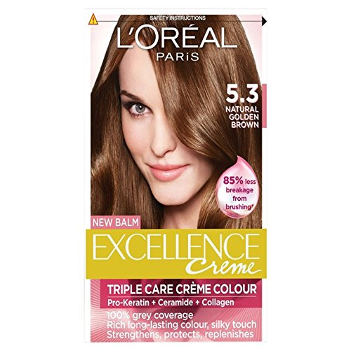 L'Oreal Excellence-Golden Brown 5.3