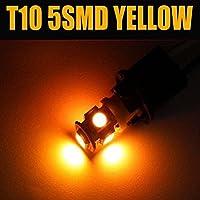 24V LED T10 ウェッジ バルブ 5SMD オレンジ 5050 SMD 1個 5連 5 SMD 24V T16 相当5連 超高輝度 24V車用 トラック デコトラ ダンプ バス 大型車用