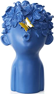 GAOBEI Home Decor Statues Sculptures Decoration Resin Figure Gift (one Blue Big Size)