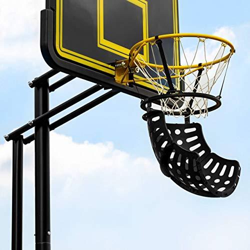 FORZA Basketballtrainer │ Basketball Wurftrainer für jeden Korb │ 180 Grad Ballrücklaufsystem