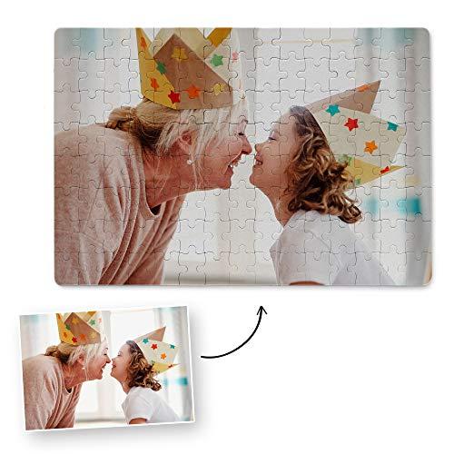 Fotoprix Puzzle Personalizado con tu Foto preferida y Texto de 280 Piezas | 5 Modelos Disponibles | Regalo Original con Foto Personalizada | Tamaño: 30 x 40 cms